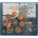 2002 - LUXEMBURGO - EUROS- BLISTER- EUROSET-