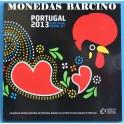 2013 - PORTUGAL - EUROS - BLISTER