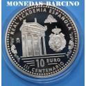 2014 - ESPAÑA - 10 EUROS - ACADEMIA ESPAÑOLA