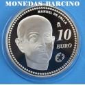 2014 - ESPAÑA - 10 EUROS - MANUEL DE FALLA